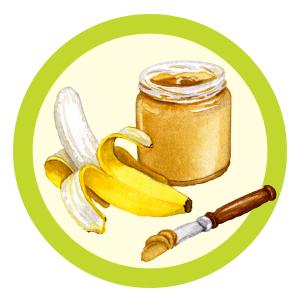Banana Peanut Butter Swirl